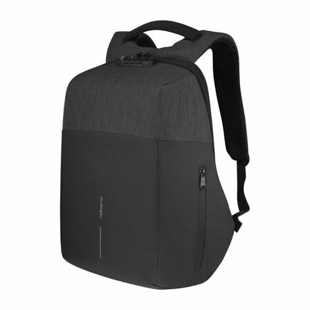 KINGSONS - Kingsons Volkano Smart Deux Black Backpack with Lock