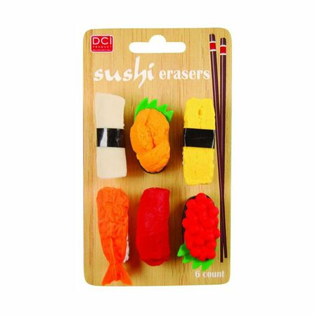 IWAKO - Sushi Erasers