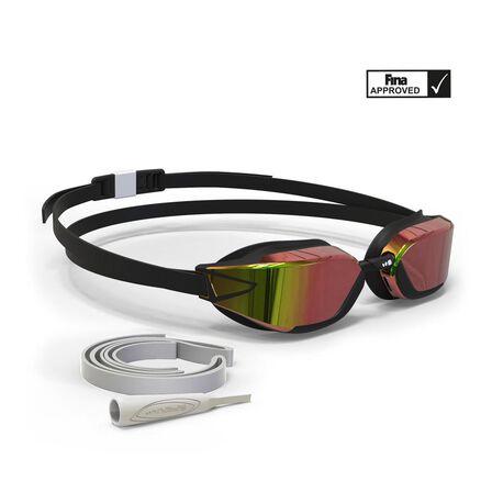 NABAIJI - Unique Size  900 B-FAST Swimming Goggles -  , Clear Lenses, Black