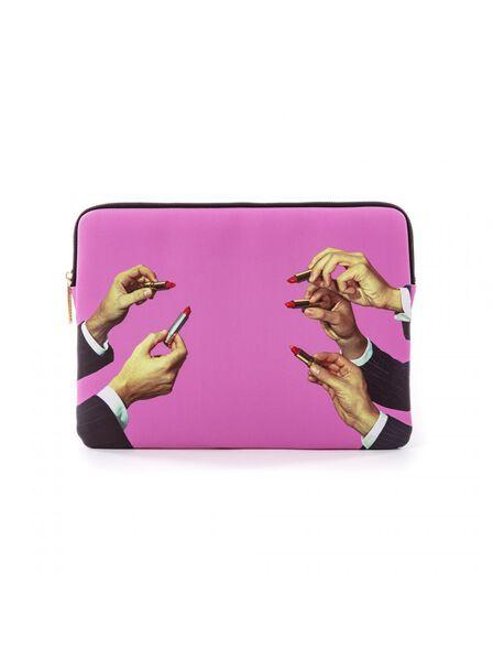 Seletti - Laptop Bag Lipsticks Pink