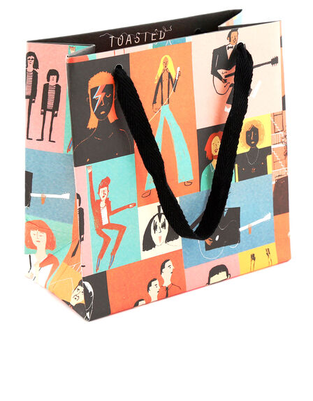 USTUDIO DESIGN LTD - Ustudio Toasted Musicians Gift Bag Small