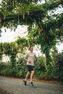 KALENJI - Large  Run Dry+ Men's Running Long Shorts With Integrated Undershorts, Black