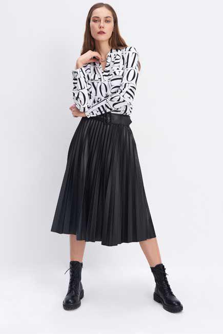 Mohito -  Viscose Shirt - White