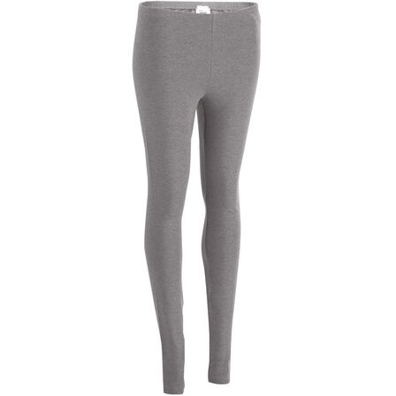 NYAMBA - W28 L31  Salto Women's Gym and Pilates Leggings - Mottled, Grey Blue