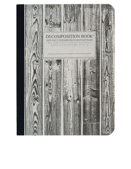 DECOMPOSITION NOTEBOOK - Decomposition Notebook Beachwood One Color [Large]