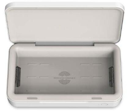 SAMSUNG - Samsung ITFIT UV Sterilizer with Wireless Charging White