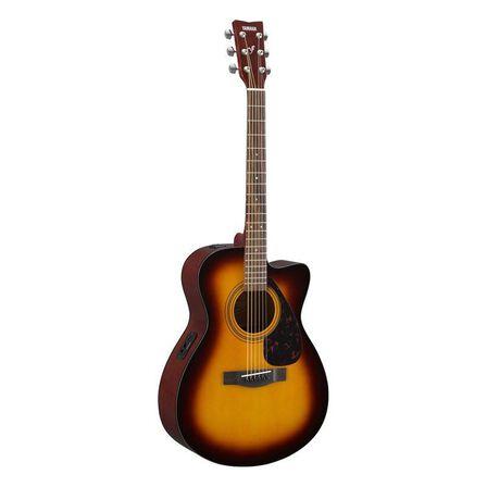 YAMAHA - Yamaha FSX315C Electric/Acoustic Guitar Tobacco Sunburst