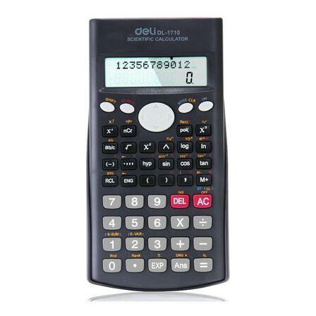 DELI - Deli Scientific Calculator 240F 10+2 Digits Grey