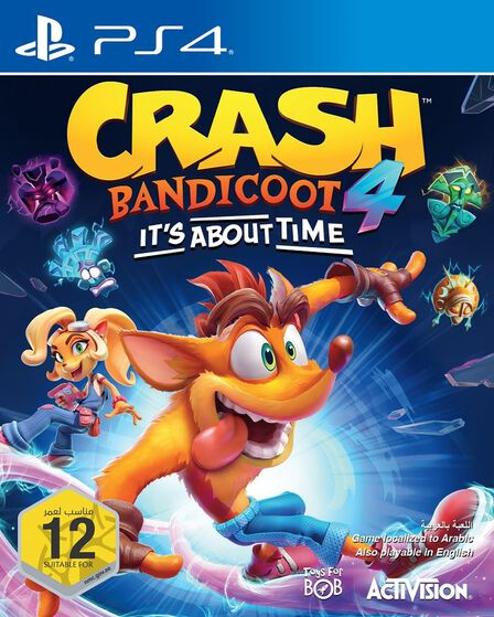 ACTIVISION - Crash Bandicoot 4 It's About Time - PS4