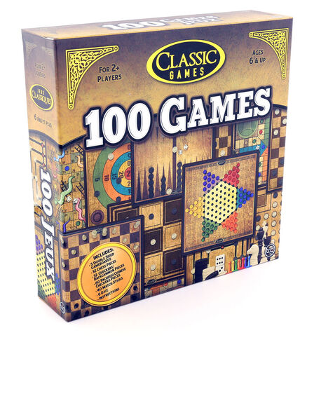 TCG - 100 Classic Games Board Game