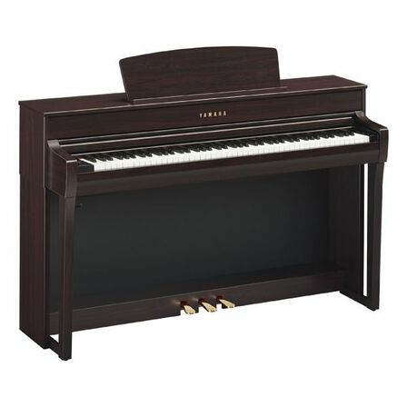 YAMAHA - Yamaha CLP-745 Digital Piano with Bench Rosewood