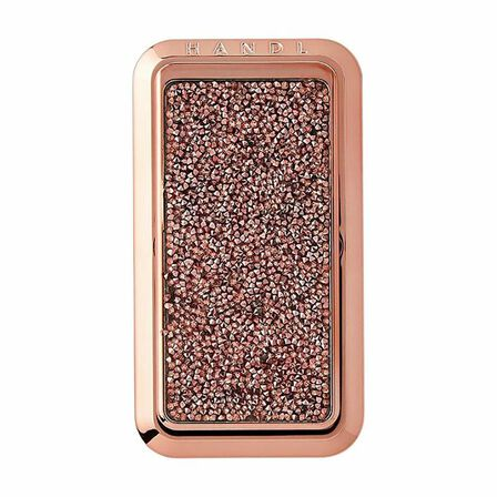 HANDL NEW YORK - Handl New York Crystal Grip & Stand Rose Gold for Smartphones