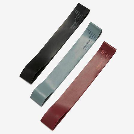 NYAMBA - Mini Latex Sports Elastic Bands Three-Pack - Deep Petrol Blue