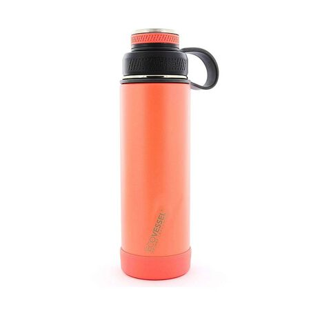 ECO VESSEL - Ecovessel Boulder Trimax Protective Bumper Tropical Melon Water Bottle 590 ml