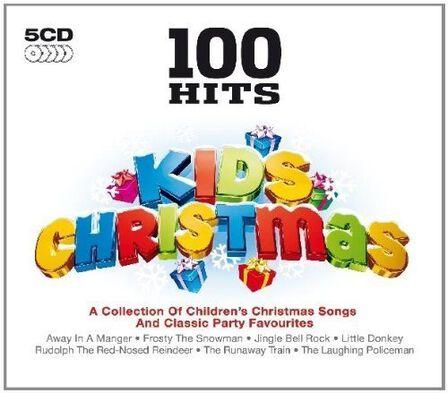 DEMON MUSIC GROUP - 100 Hits Kids Christmas (5 Discs) | Various Artists