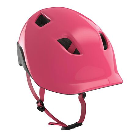 BTWIN - XS/48-52cm  500 Kids' Cycling Helmet - Neon, Blush Pink