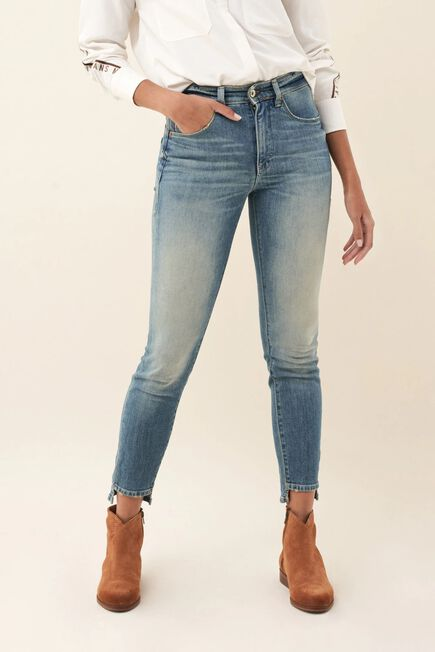 Salsa Jeans - Blue Push In Secret Glamour capri light jeans