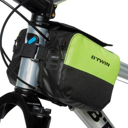 B TWIN - 520 double 2l bike frame bag - yellow