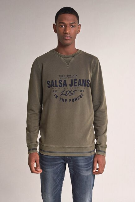 Salsa Jeans - Green Salsa branded sweater