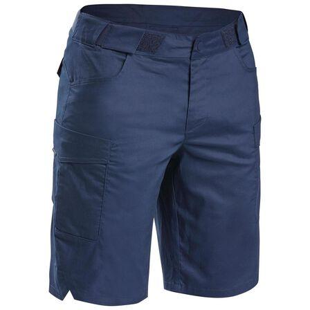 "QUECHUA - Medium  Menأ¢â'¬â""¢s Country Walking Shorts - NH500 Fresh, Asphalt Blue"