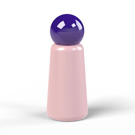 LUND LONDON - Lund Skittle Bottle Mini Pink with Indigo Lid 300 ml