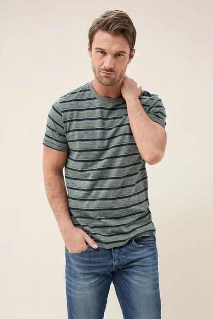 Salsa Jeans - Blue Blue striped t-shirt