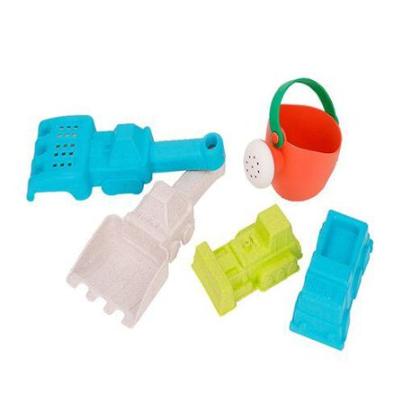 ROLL UP KIDS - Roll Up Kids Beach Toy with Construction Vehicles [Set of 5]