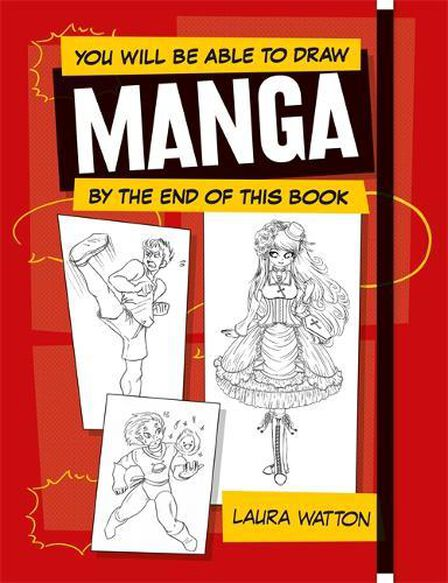 OCTOPUS UK - You Will be Able to Draw Manga by the End of this Book
