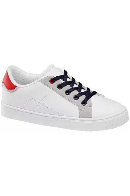 Victory - White Sneakers, Kids Boy