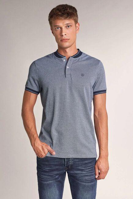 Salsa Jeans - Blue Regular fit polo shirt small collar
