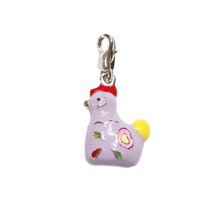 BOMBAY DUCK - Bombay Duck Metal Chicken Charm