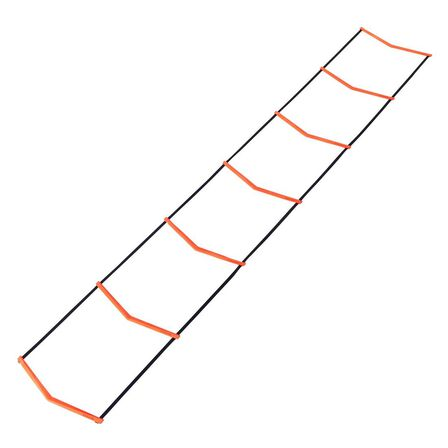 KIPSTA - 3.20 M Essential Football Agility Ladder - Fluo Blood Orange
