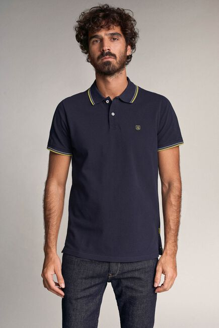 Salsa Jeans - Blue Slim fit Denim2GO polo shirt