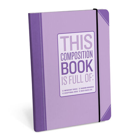 KNOCK KNOCK - Knock Knock Composition Book Important Topics Notebook