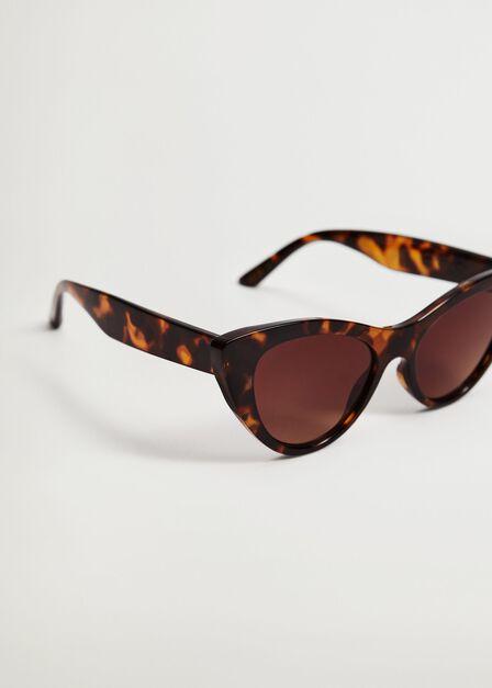 Mango - dark brown Cat-eye sunglasses, Women