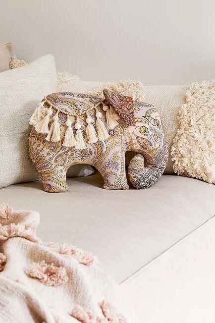 Urban Outfitters - ASSORT Elephant Throw Cushion
