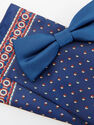 Reserved - Men's Bow Tie & Pocket Square - Navy
