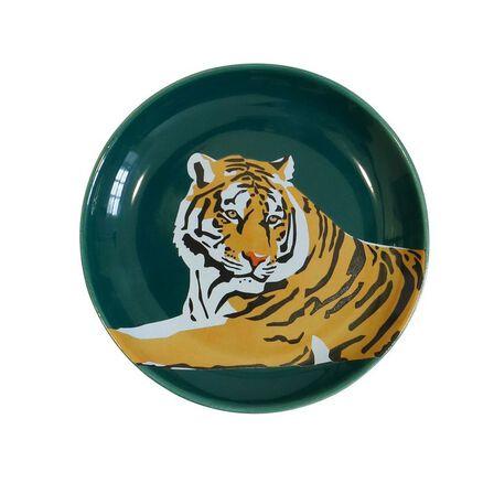 EMILY BROOKS - Emily Brooks Ceramic Trinket Tray Tiger
