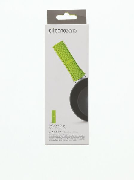 SILICONE ZONE - Soft Cell Grip Pot Handle [Assorted Colors - Includes 1]