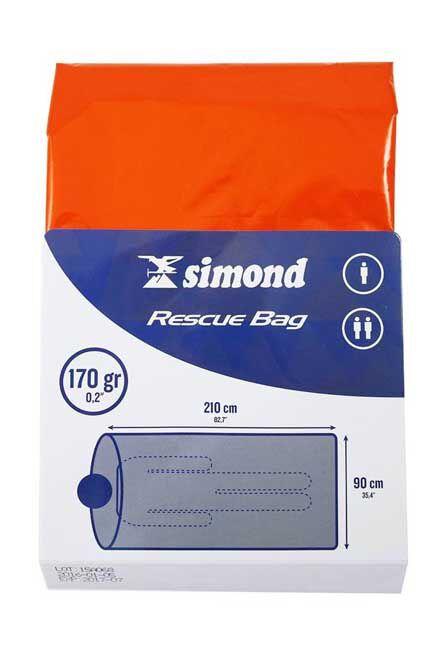SIMOND - Mountaineering survival bag, 1 person