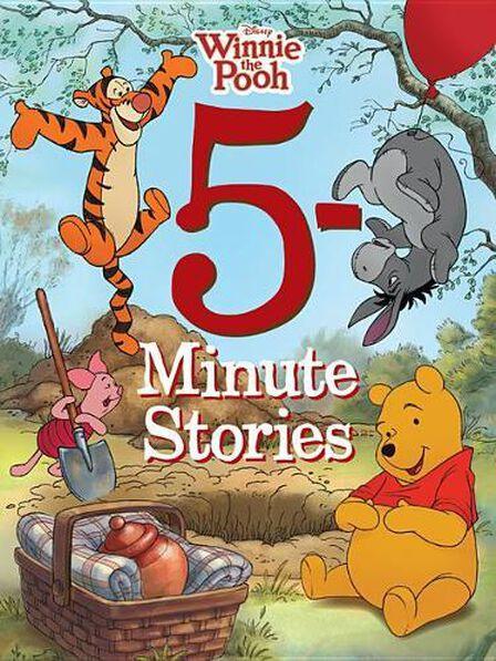 DISNEY PRESS USA - 5-minute Winnie The Pooh Stories