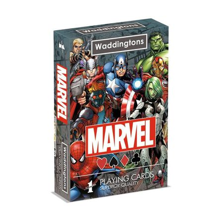 WADDINGTON - Waddington's Playing Cards No.1 Marvel Universe Deck