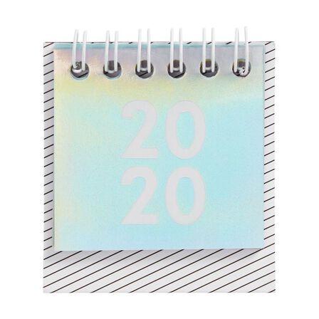 KIKKI.K - kikki.K 2020 Cute Mini Desk Calendar Be Kind Holographic