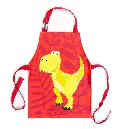 THREADBEAR DESIGN - Threadbear Design Dinosaur Apron 3-6 Yrs