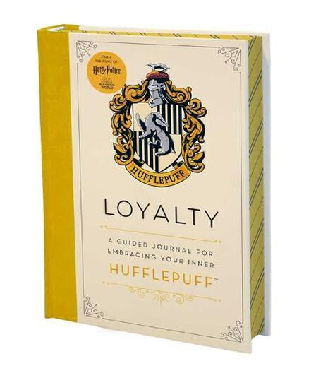 INSIGHT EDITIONS - Harry Potter Kindness A Guided Journal for Embracing Your Inner Hufflepuff