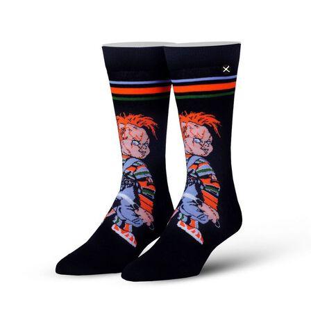 ODD SOX - Odd Sox Chucky's Back Knit Men's Socks [Size 6-13]