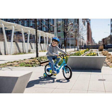 "B TWIN - Kids' 14"" bike 500 (3-4.5 years) - ocean"