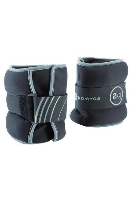 NYAMBA - Tone softbell adjustable wrist and ankle weights twin-pack 2 kg, 2 Kg