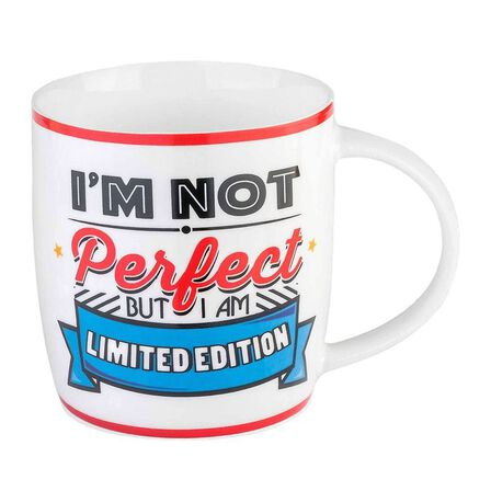 LEGAMI - Legami Buongiorno Mug Aphorism I'M Not Perfect But Iam Limited Edition