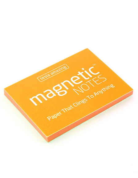 MAGNETIC STICKY NOTES - Magnetic Notes Orange S